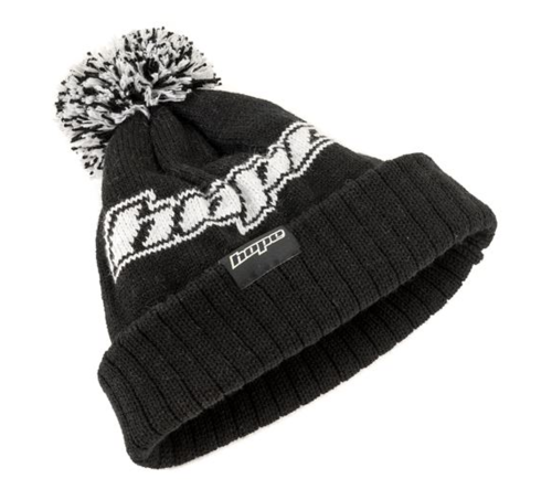 HOPE Bonnet | Wool Bobble Hat - Black